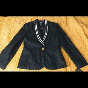Navy blazer size 6P